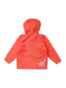 Baby boys hooded windbreaker