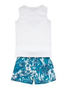 Boys set of tank top and short