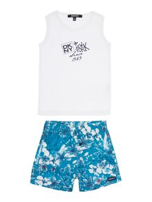 Baby boys set of tank top and short