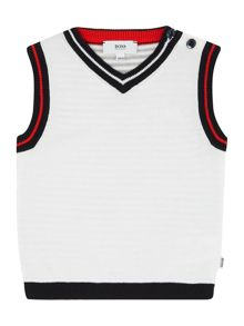 Baby boys knitted top tank