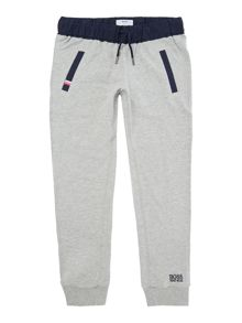Girls fleece jogging bottoms