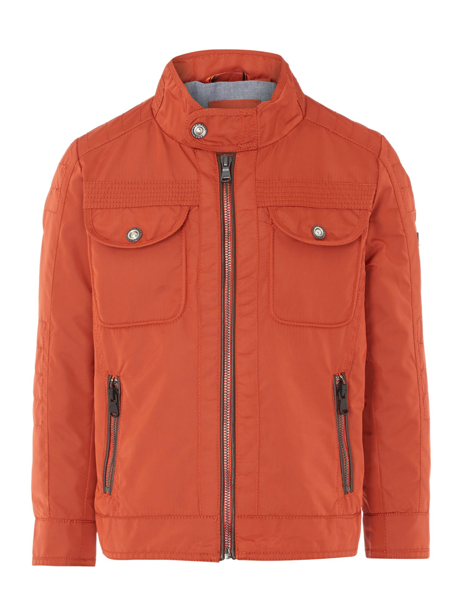 Hugo Boss Boys nylon jacket Orange