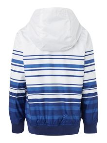 Boys hooded windbreaker