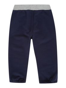 Baby boys fleece jogging bottoms
