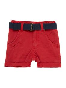 Baby boys bermuda shorts with belt