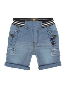 Baby boys denim bermuda shorts