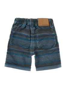 Baby Boys Striped Bermuda Shorts
