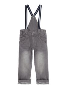 Boys Denim Trousers And Its Braces