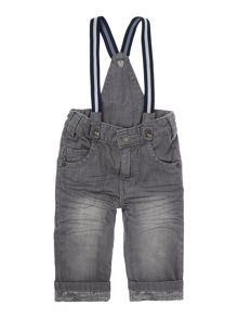 Baby boys denim trousers and its braces