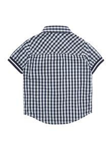 Baby boys checked short sleeves shirt
