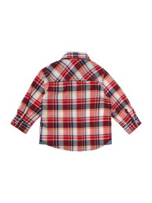 Baby boys checked long sleeves shirt