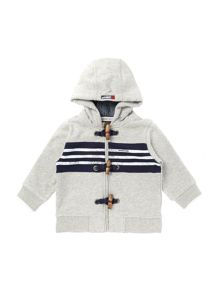 Baby boys fleece hooded cardigan