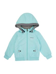 Boys reversible hooded jacket