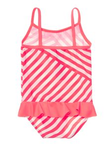 Baby Girls Striped Swimsuit