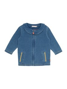 Baby girls fleece cardigan