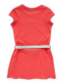 Baby girls sleeveless dress with belt