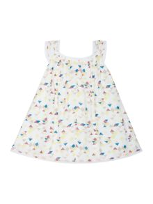 Baby girls geometric print dress