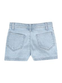 Girls denim shorts and belt