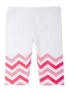Baby girls three quarter leggings