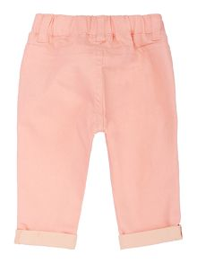 Baby girls twill trousers