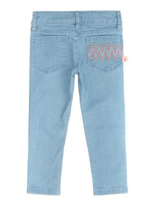 Baby girls denim trousers