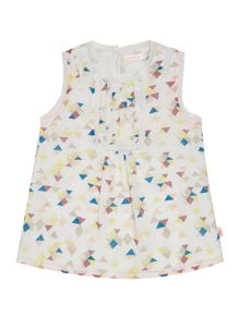 Baby Girls All Over Printed Blouse