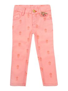 Baby Girls Trousers And Key Ring