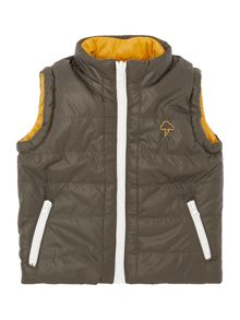 Baby Boys Hooded Gillet