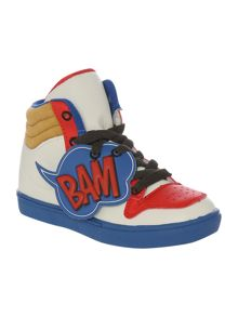 Baby boys high-top trainers