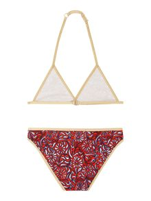 Girls Two Piece Swimwear