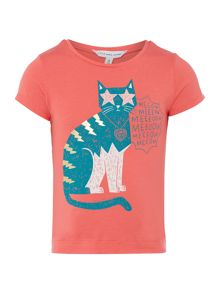 Girls short sleeved t-shirt