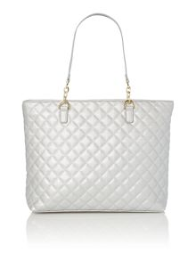Mindy quilted tote bag