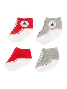 Converse New Born 2 Pack Converse Booties