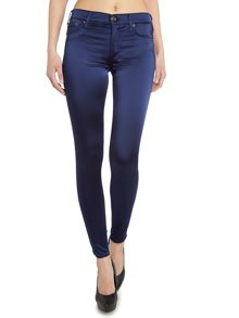True Religion Halle embellished skinny jean in navy