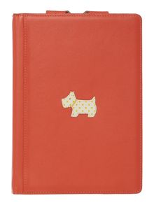 Heritage dog orange mini ipad cover