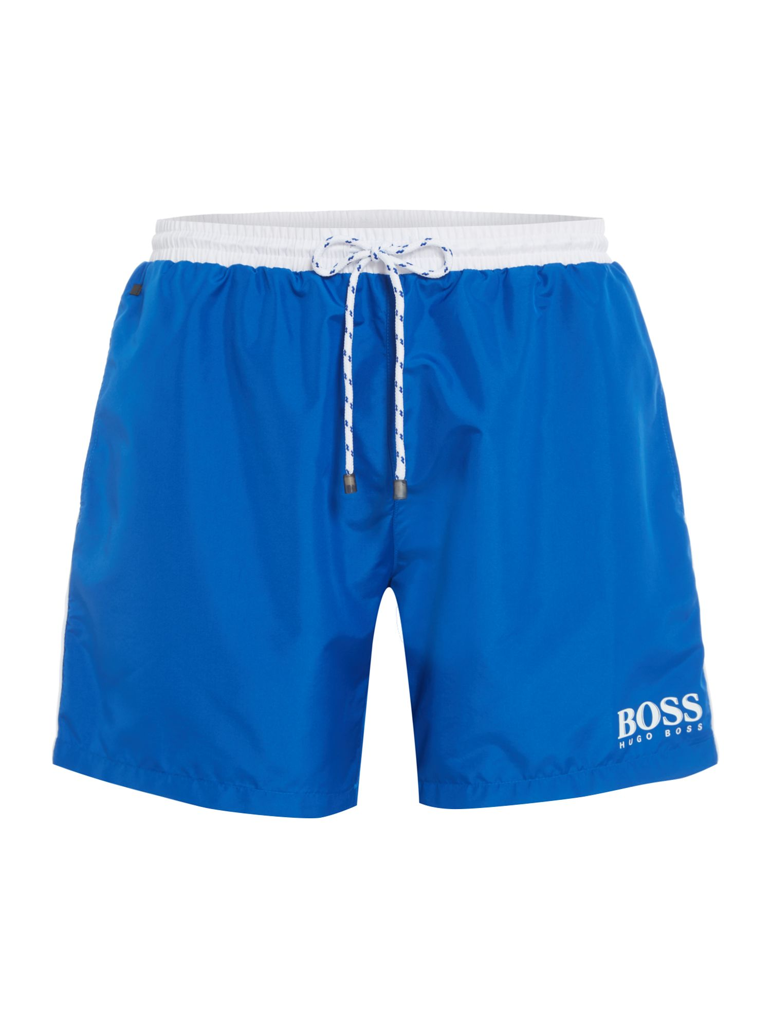 Men's Hugo Boss Starfish Swim Shorts, Light Blue