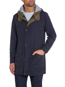 Casual Waterproof Full Zip Duffel Coat