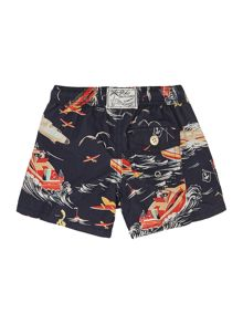 Polo Ralph Lauren Boys Boat And Plane Print Swim Short