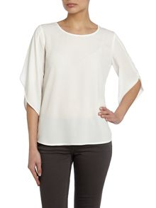 Crew neck blouse