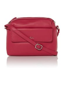 Nappa pink medium crossbody