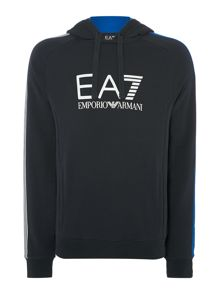 Hooded Logo Jumper