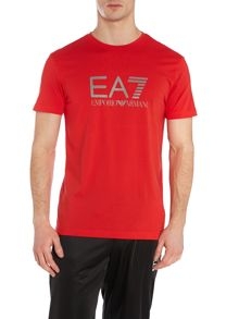 T-Shirt With Logo Shoulder Detail