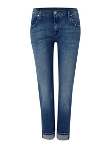 7 For All Mankind Relaxed skinny jean in alabama mid wash