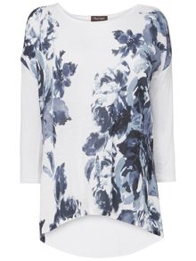 Phase Eight Fabien print top
