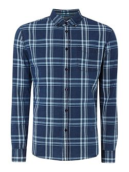 Peter Large Check Long Sleeve Shirt