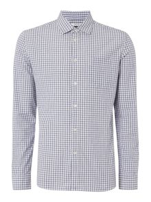 David Mini Gingham Long Sleeve Shirt