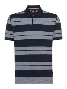 Army & Navy Jack Stripe Polo Shirt