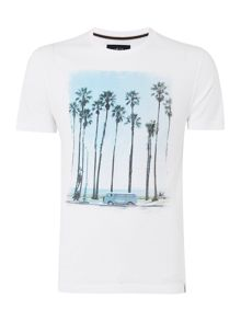 California Short Sleeve Graphic Tshirt