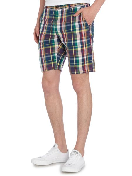 Gant Madras Cotton Shorts