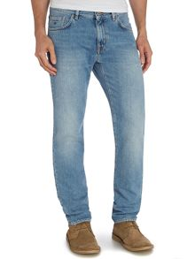 Gant Slim Fit Light Wash Jeans